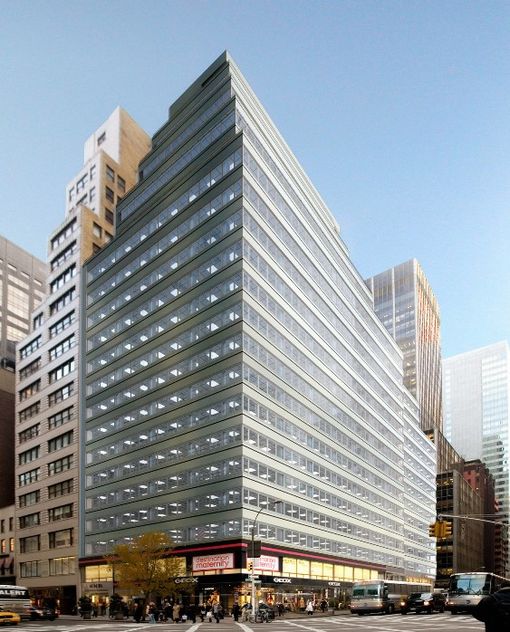 575 madison ave<br>Metal Panel Renovation<br>Completion Date:  2009
