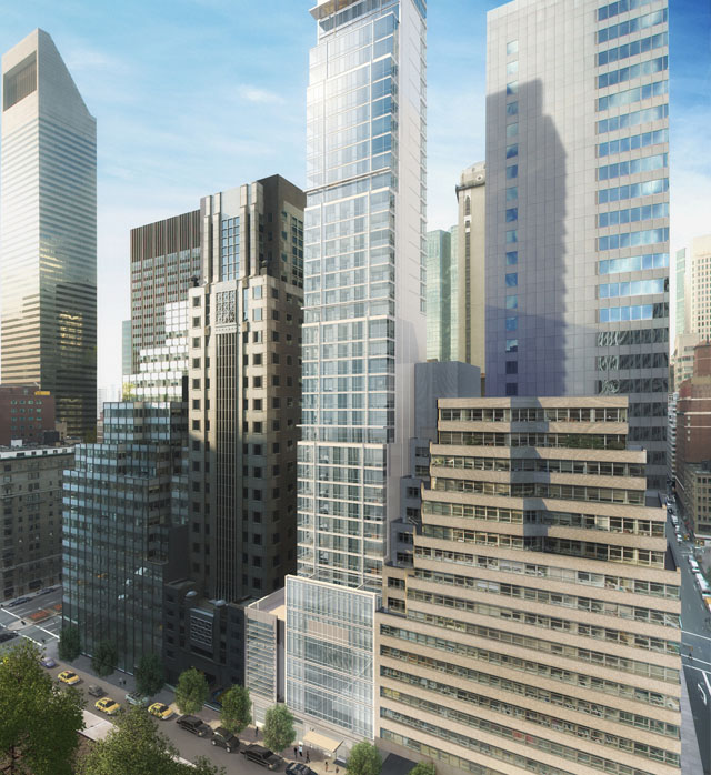 Park Avenue Place 60 East 55th Street New York, NY<br>New Construction Inspections<br>Completion Date:  2004